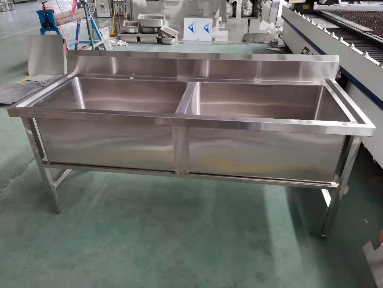 承德源头工厂直售学校食堂不锈钢水槽