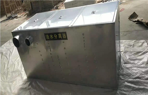 江门不锈钢油水分离器环保认证产品