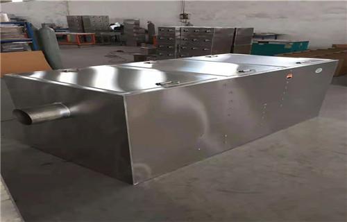 威海工厂承接尺寸定制餐饮不锈钢油水分离器