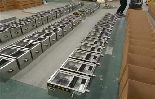 平顶山源头工厂承接定制餐饮不锈钢油水分离器