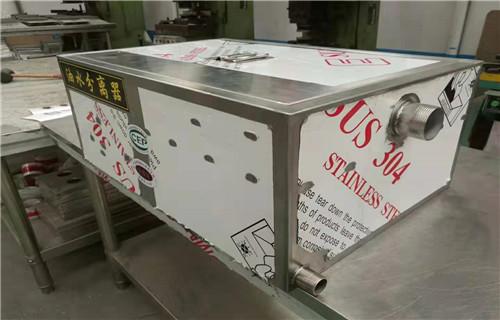 济宁源头工厂承接定制不锈钢隔油池