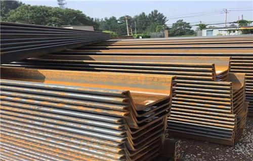江西拉森钢板桩低价资源批发商