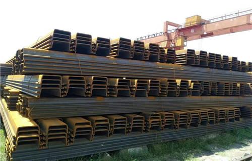 安庆批发销售U型拉森钢板桩防滑坡