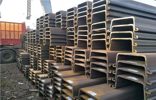海南批发莱钢IV型拉森钢板桩钢厂直发