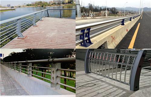 张家界不锈钢天桥防护栏杆效果图