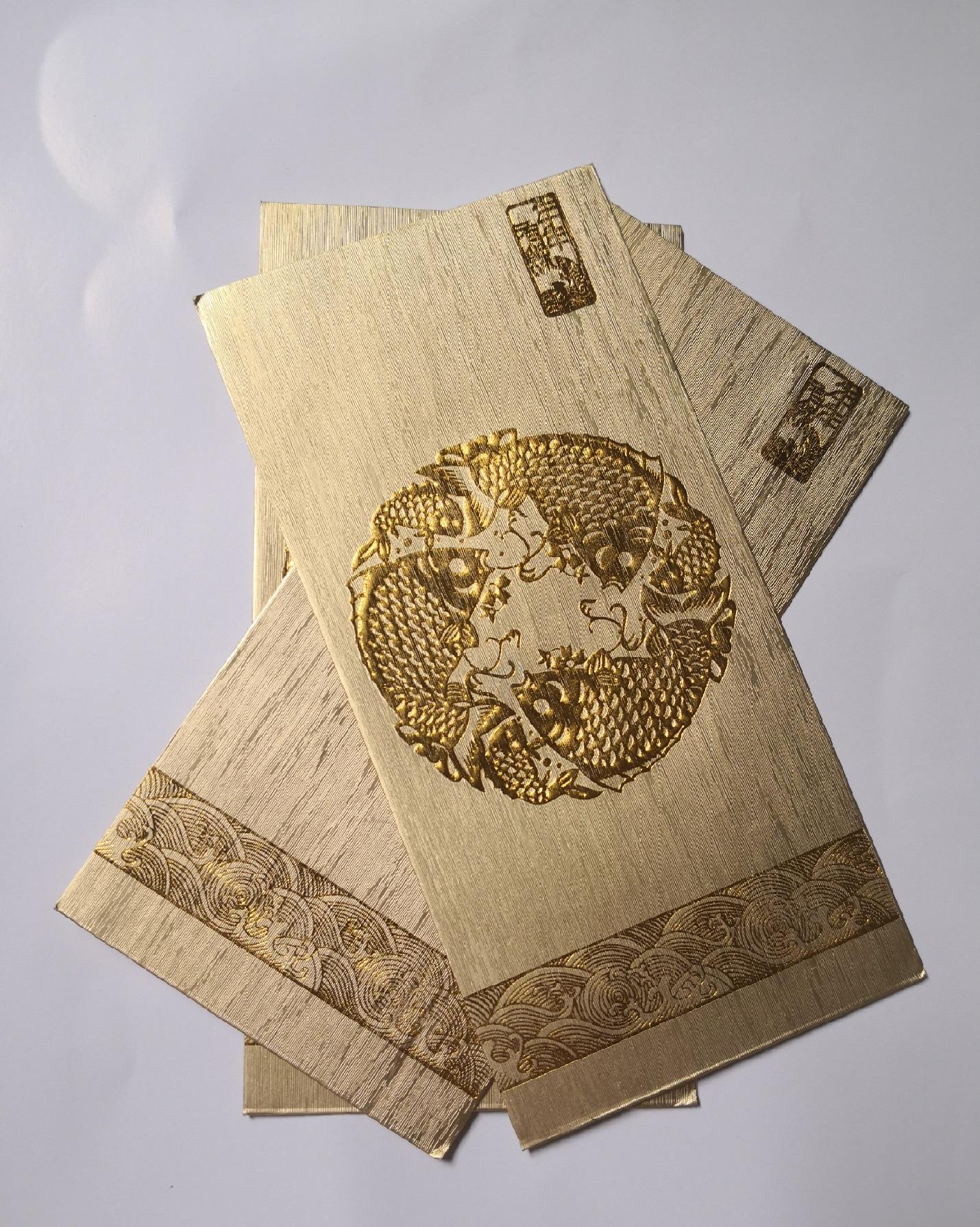 袋装红包印刷厂家新年红包印刷公司新款图案批量印刷厂商大兴安岭