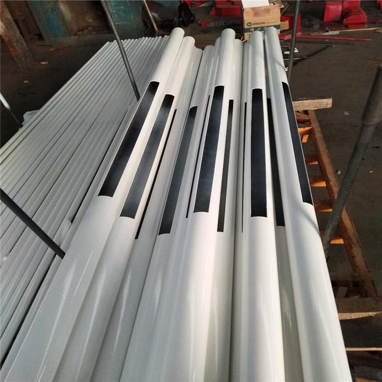 池州护栏厂-定尺加工防撞钢板护栏立柱