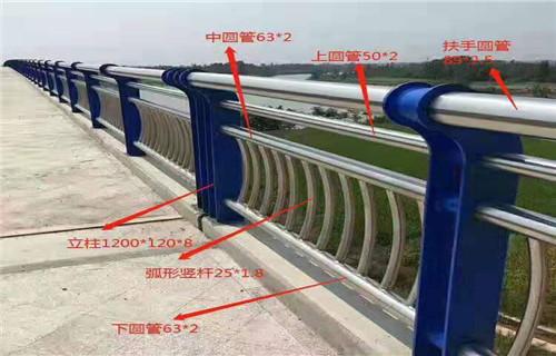 河南洛阳市市政不锈钢高铁护栏厂全力打造