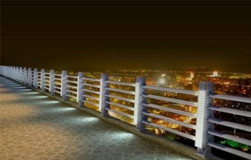 漳州立柱预埋钢板桥梁景观不锈钢栏杆