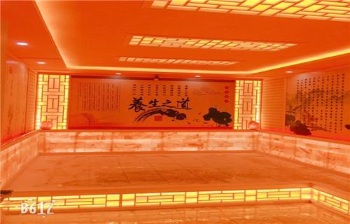 河北廊坊美容院汗蒸房安装价格浴池安装河北宏鑫汗蒸