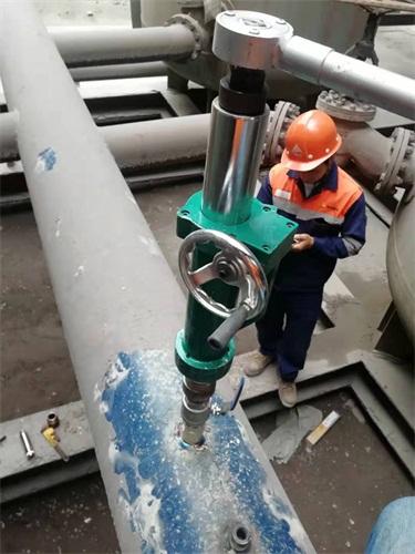 天津循环水带压堵漏公司