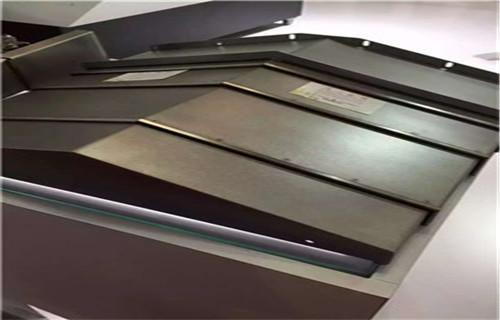 宁德德玛吉DMC55H加工中心不锈钢板防护罩生产