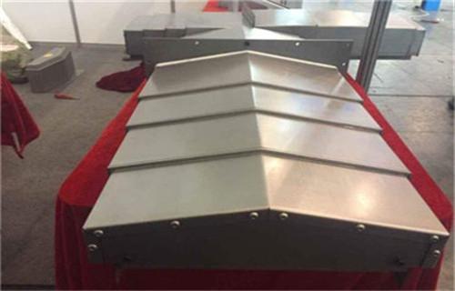 马鞍山汉川机床HPBC1116不锈钢板防护罩厂家发货