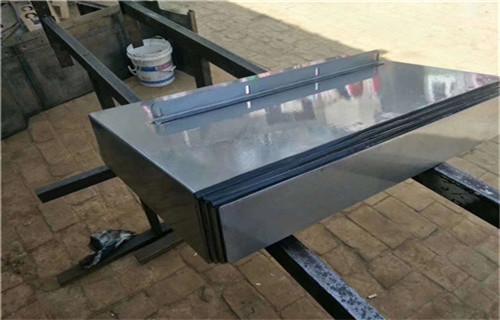 临沂德玛吉DMC55H加工中心不锈钢板防护罩生产