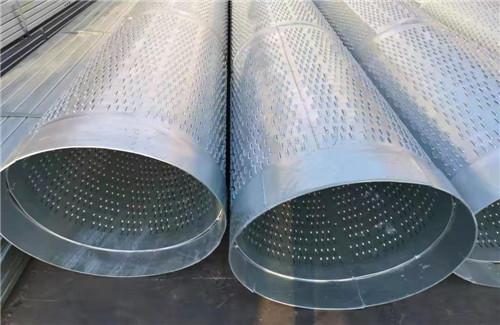 水源地开发专用管426*5圆孔滤水管厂家直发漳州