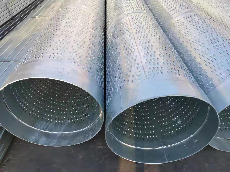 城市施工建设用800*5直缝滤水管辽宁