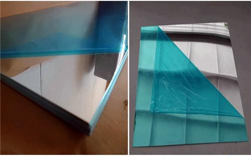黔西南贴膜镜面铝板