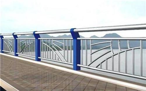 马鞍山桥梁不锈钢复合管防撞护栏