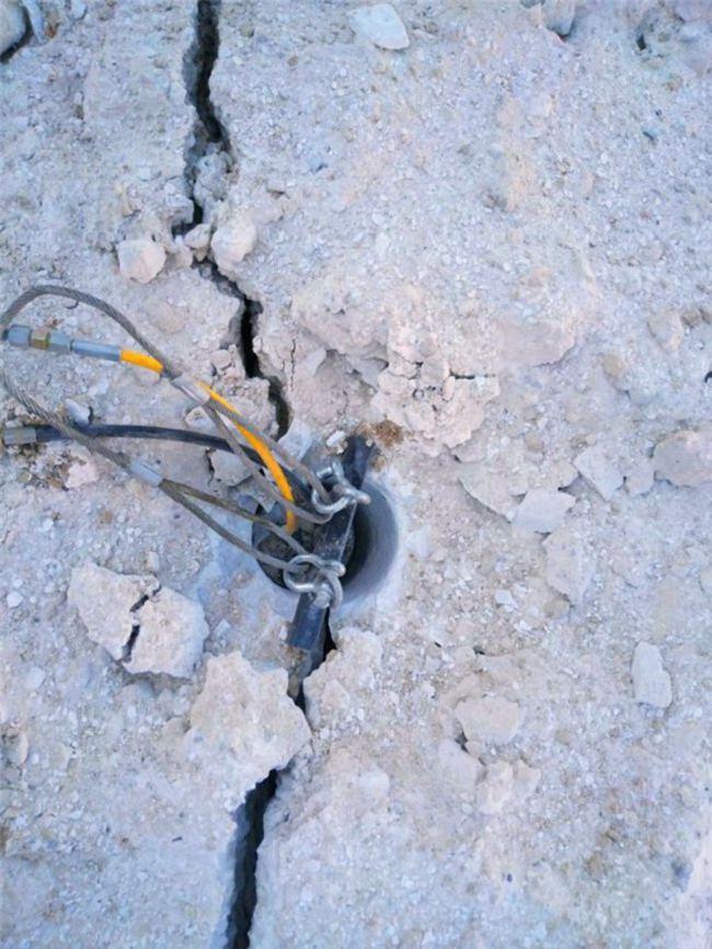 长沙市有没有可以代替炸的岩石机械劈裂棒