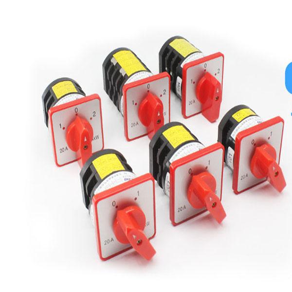 新闻:漳州LW2B-621/F4-8X小型电压转换开关