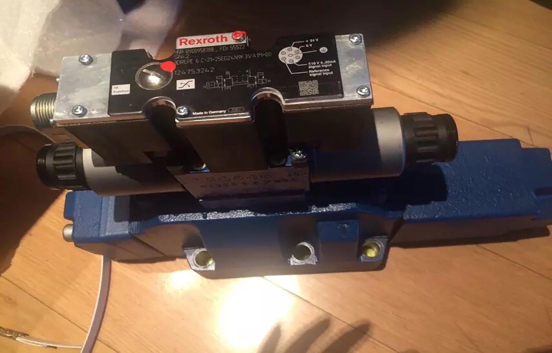 安康4WRSE10W6-80-3X/G24K0/A1V比例阀安装
