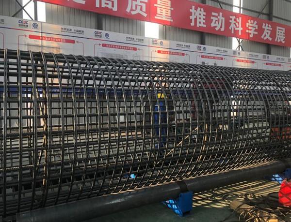 海南海口钢筋笼缠绕机生产厂家河南创优机械设备