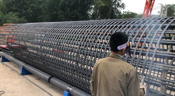福建莆田钢筋笼盘筋机哪里有河南创优机械设备