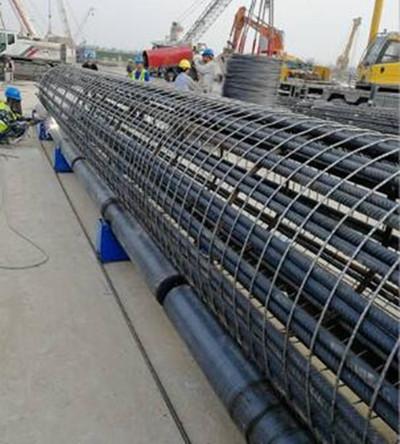 湖南省长沙钢筋笼成型机销售厂家河南创优机械设备有限公司