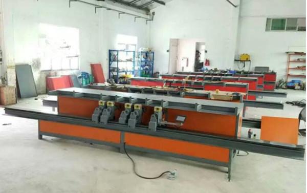 河北省廊坊市数控五机头箍筋机厂家直销河南创优机械设备