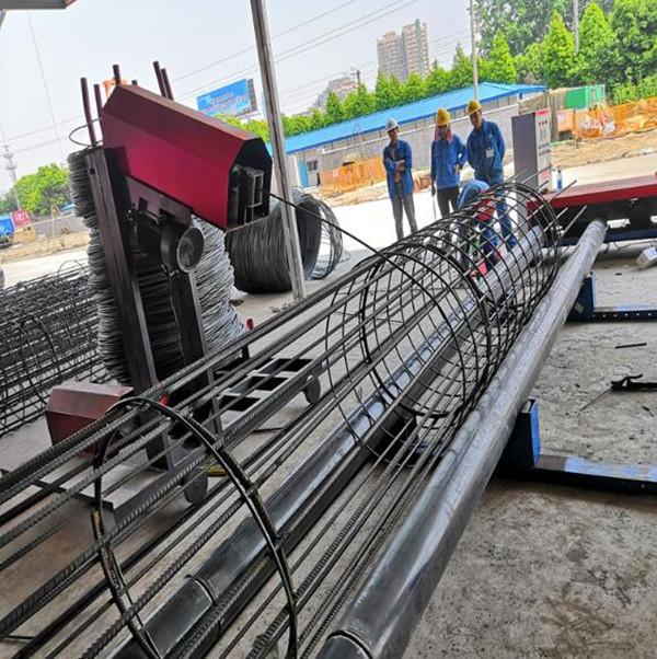 江西抚州市钢筋笼绕筋机生产销售基地河南创优机械设备
