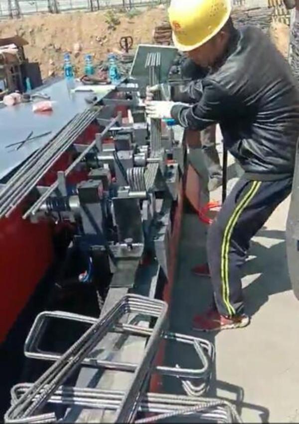 湖南省长沙数控五机头钢筋弯箍机生产厂家河南创优机械设备有限公司