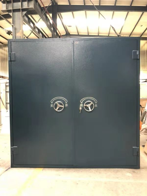 安庆市岳西碳钢金库门定制生产型企业科悦柜业