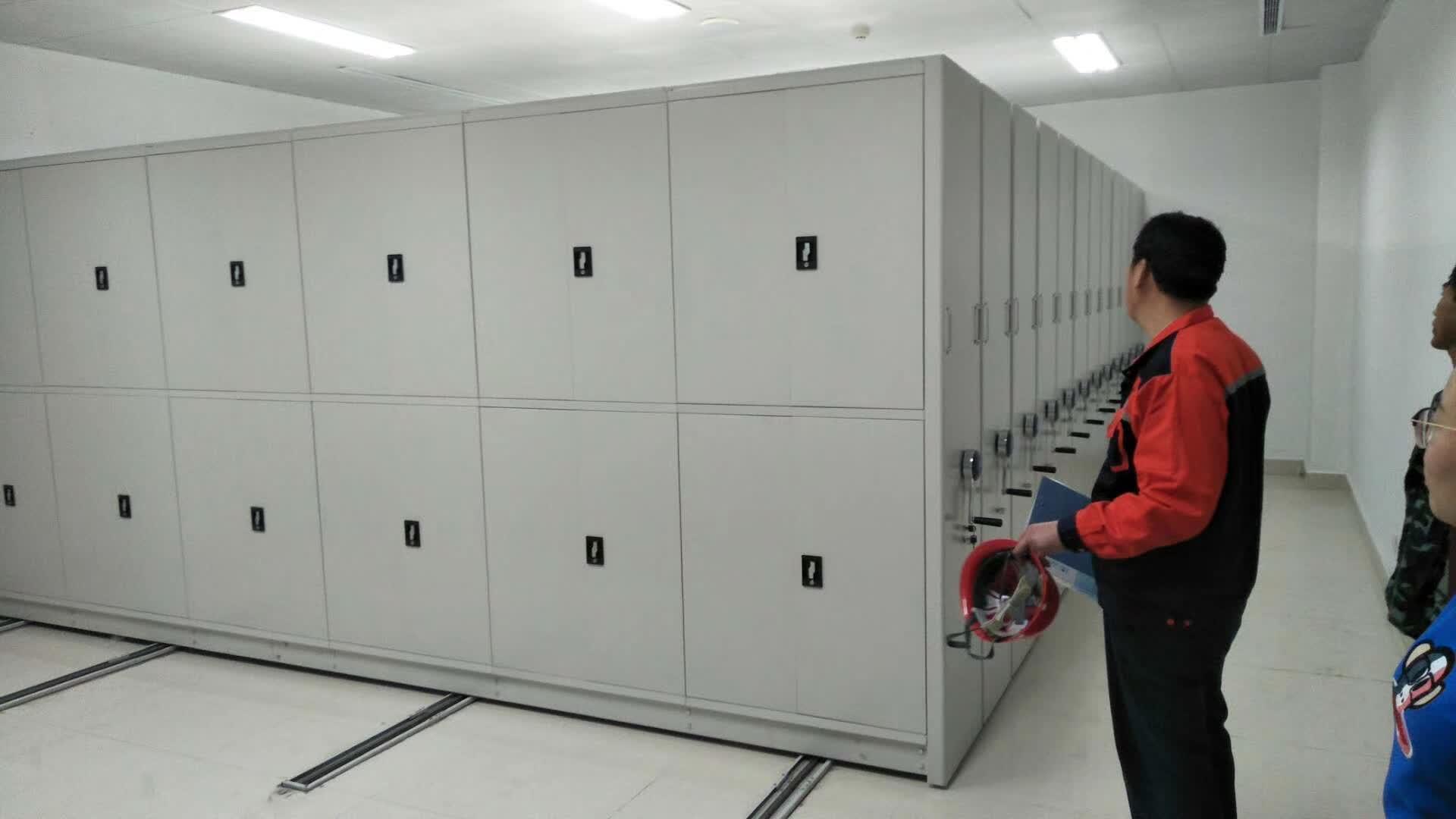 天津市西青全自动档案柜为您服务质保十年终身售后
