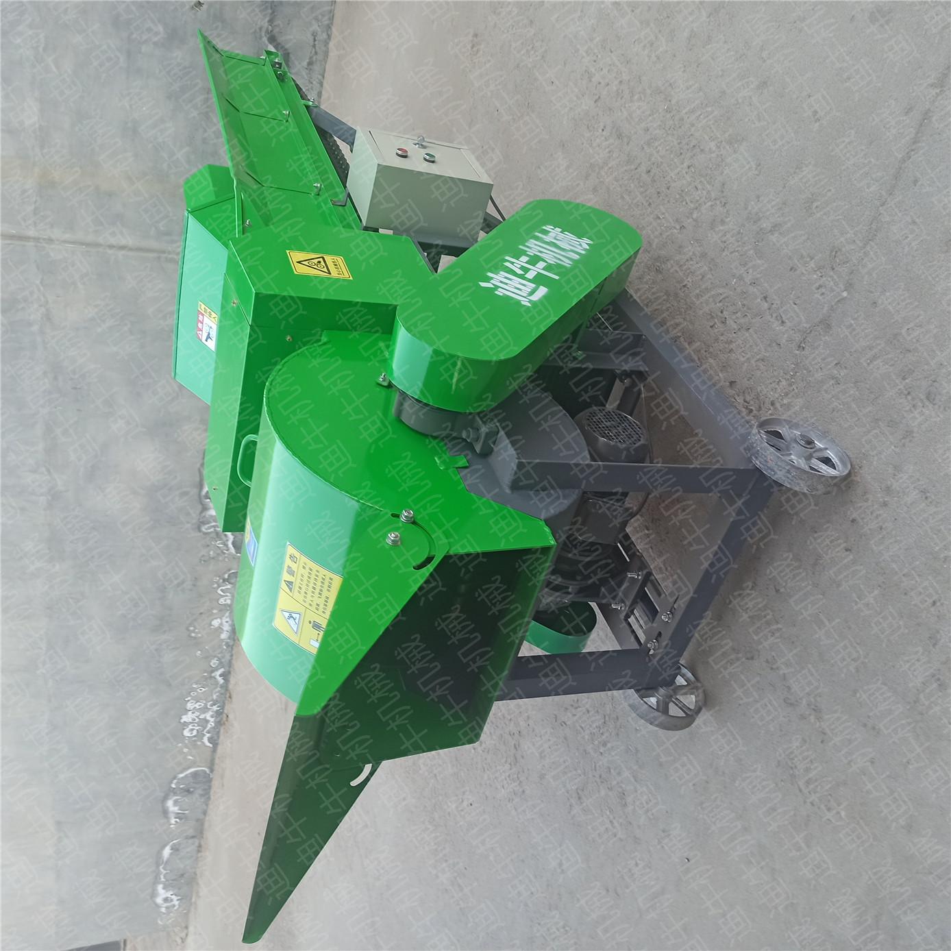 陕西省安康市石泉县牛羊不吃揉丝机加工的草料就选迪牛机械产品