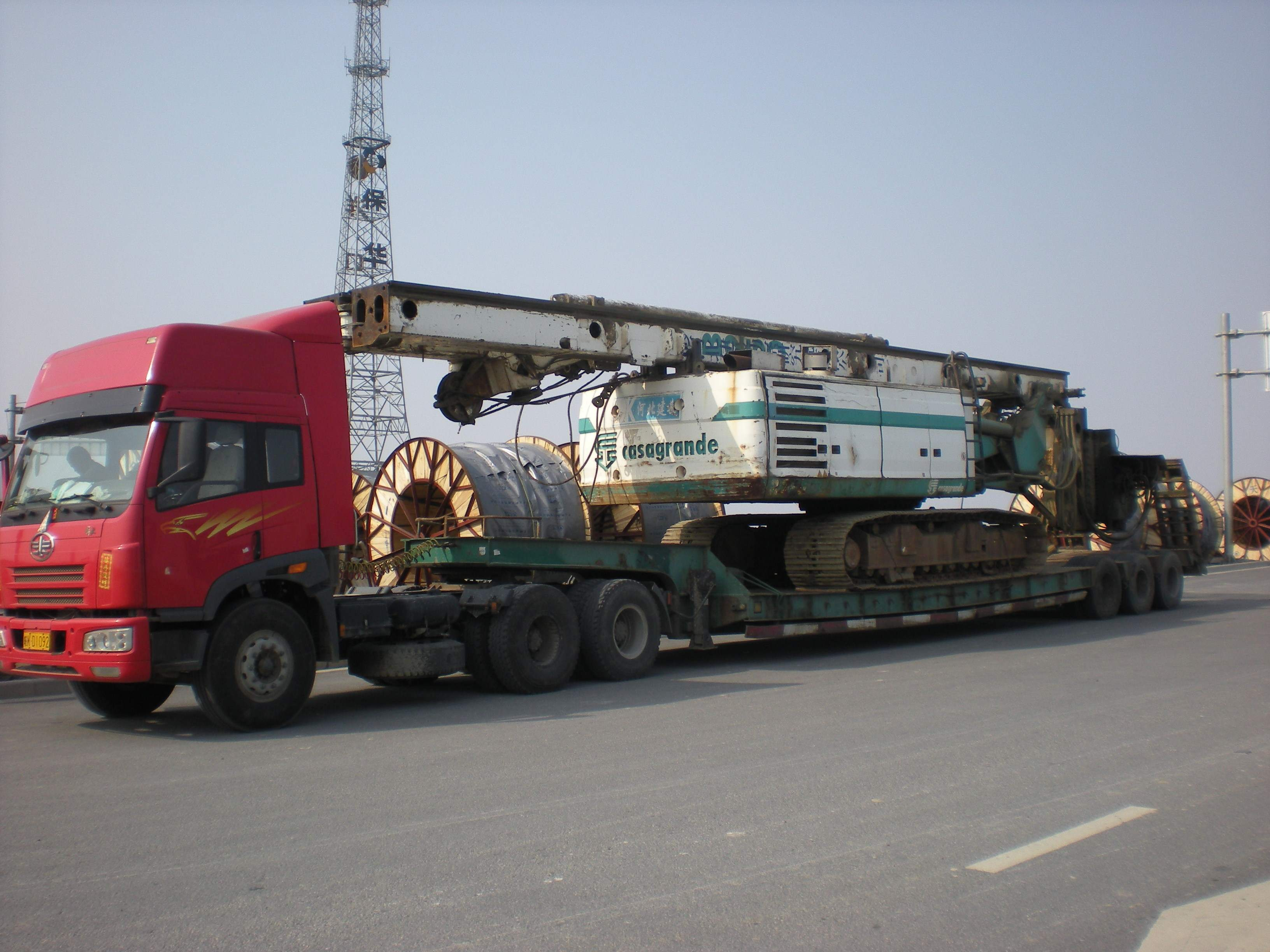 榆林到德阳返程车运输