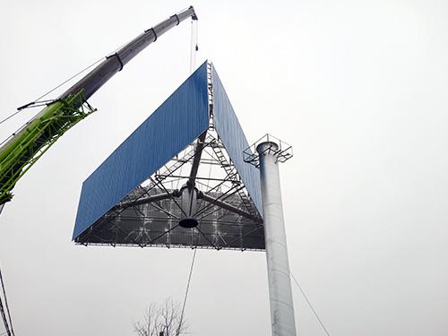 吕梁单立柱广告塔制作厂家--值得信任