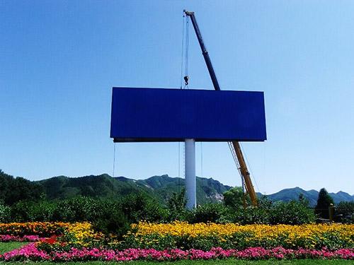 黎川单立柱制作公司---施工方案