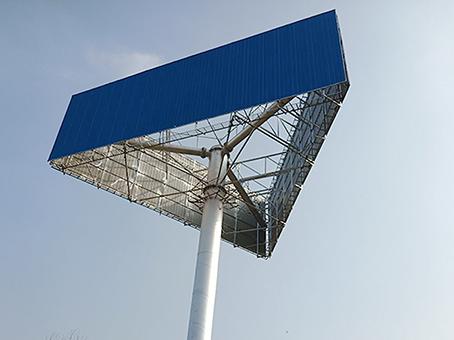 河源市单立柱广告塔制作公司--厂家直供