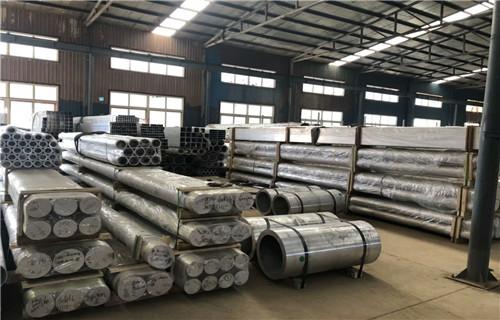 临沂铝管(6061,6063)大口径无缝铝管用心服务