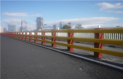 南平市政道路护栏工期短,交货快