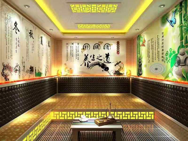 安徽省池州市青阳新品汗蒸房安装欢迎实地考察
