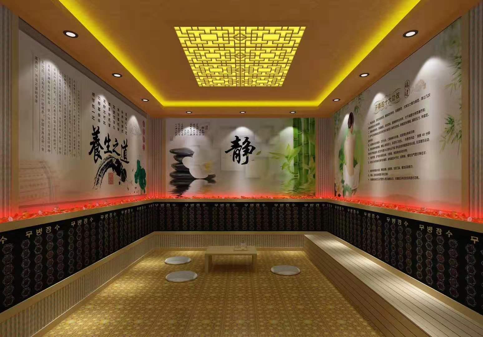 西藏省日喀则市定日纳米汗蒸房安装款式介绍