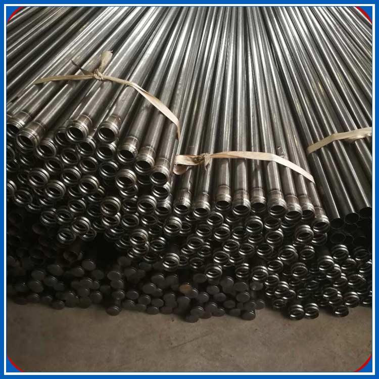 攀枝花声测管厂家桥梁桩基检测螺旋,钳压式,法兰式,套筒式