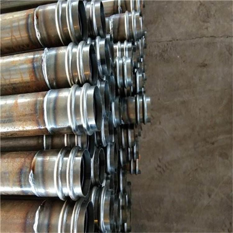 安康桥梁桩基声测管价格钳压式声测管厂家螺旋式声测管规格