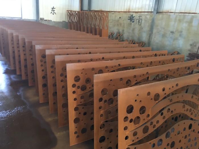 济南耐候钢板锈蚀做锈厂房