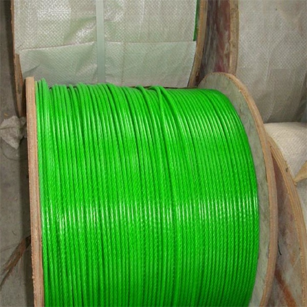 广东省中山市钢结构涂塑钢丝绳生产厂家