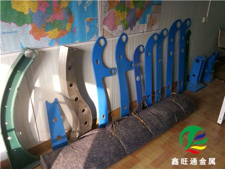 吉安不锈钢复合管河道护栏厂家