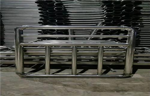 德阳304拉丝不锈钢复合管护栏新报价