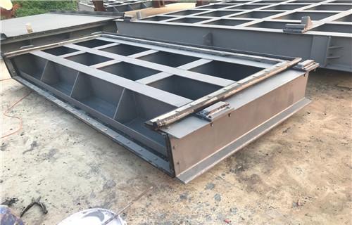 东营钢结构翻板闸门保养方便