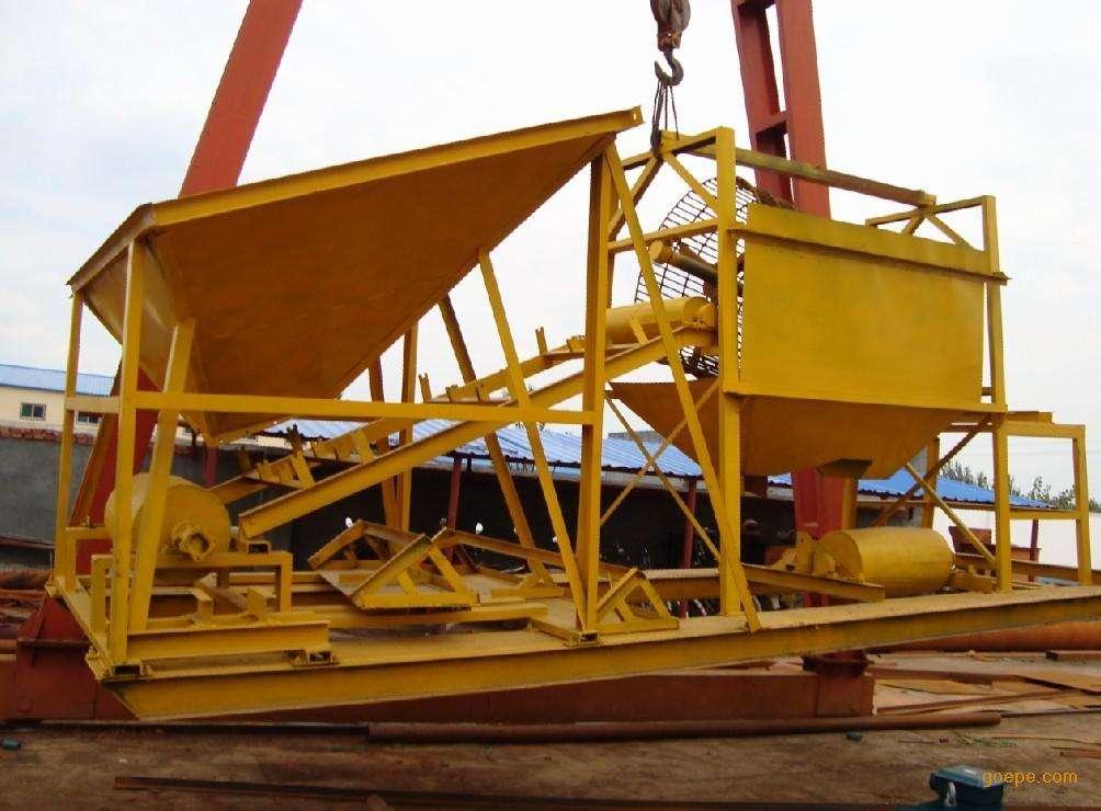 济南水洗轮淘金设备破碎机